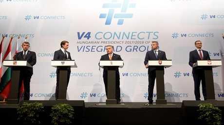 اجتماع رباعية فيشيغراد في بودابست بحضور المستشار النمساوي