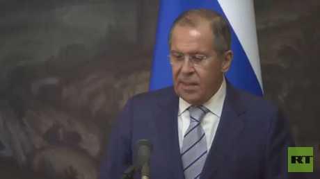 لافروف يؤكد أهمية تعاون موسكو وواشنطن