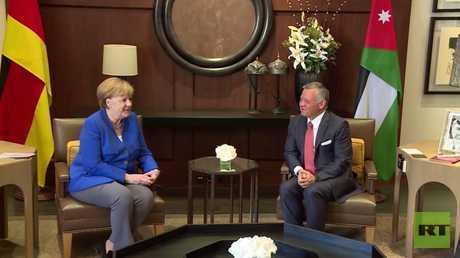 دعم ألماني للأردن خلال زيارة ميركل لعمان