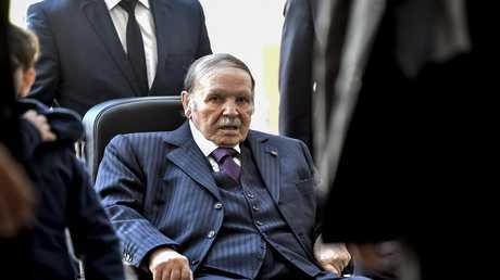 الرئيس الجزائري عبد العزيز بو تفليقة - أرشيف