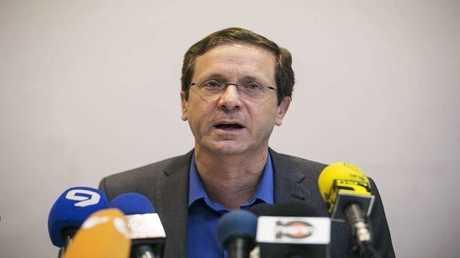رئيس المعارضة في إسرائيل يتسحاق هرتسوغ
