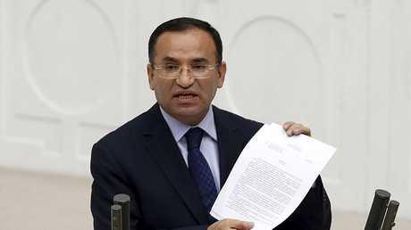 المتحدث باسم الرئاسة التركية بكر بوزداغ