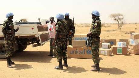قوات حفظ السلام في السودان - أرشيف