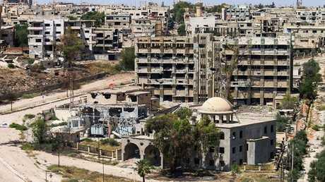 مدينة درعا بجنوب سوريا، 2 يونيو 2018
