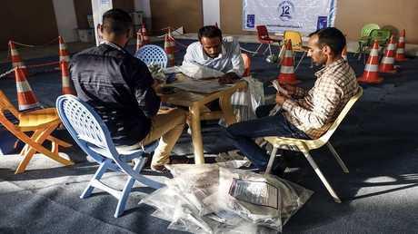 عملية فرز الأصوات في الانتخابات العراقية - أرشيف