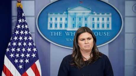 المتحدثة باسم البيت الأبيض، ساره ساندرز