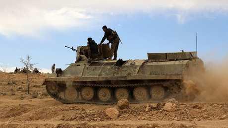 مقاتلون لقوات سوريا الديمقراطية في الحسكة (أرشيف)