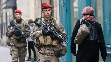 قوات الأمن الفرنسي - أرشيف