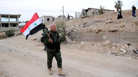 جندي سوريا في الغوطة الشرقية - 29/12/17