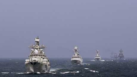 سفن حربية صينية - أرشيف