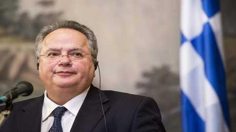 وزير الخارجية اليوناني، نيكوس كوتزياس
