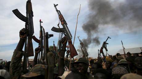مسلحون في جنوب السودان - أرشيف
