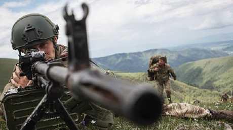 مناورة تدريبية للجيش الروسي