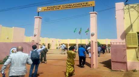 المقر العام للقوة المشتركة لدول مجموعة الساحل الخمس في وسط مالي - أرشيف -