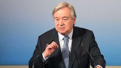 الأمين العام للأمم المتحدة أنطونيوغوتيريش