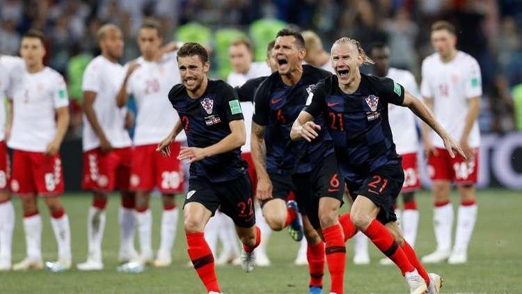 كرواتيا تبلغ دور الـ 8 الكبار لمونديال 2018