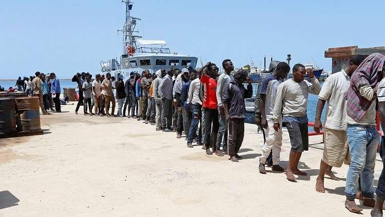 غرق 41 مهاجرا وفقدان 63 آخرين قبالة سواحل ليبيا