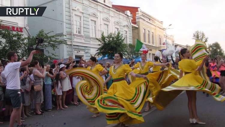 كرنفال برازيلي في سمارا الروسية!