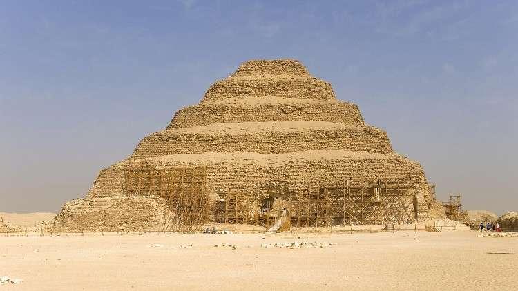 اكتشاف أثري جديد داخل هرم زوسر في مصر