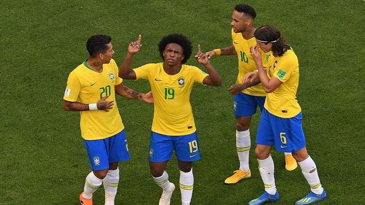 البرازيل الأكثر وصولا للدور ربع النهائي في كأس العالم
