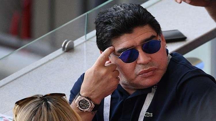 مارادونا: حكم مباراة إنجلترا وكولومبيا