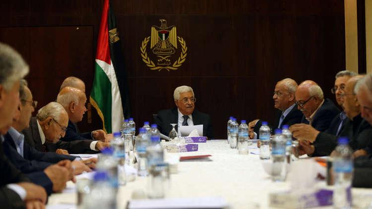محمود عباس يترأس اجتماعا في رام الله