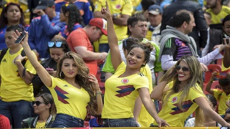 شاهد.. استقبال أسطوري للاعبي المنتخب الكولومبي عند عودتهم إلى بلادهم