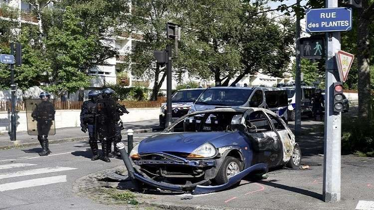 فرنسا.. استمرار العنف في نانت لليوم الثالث على التوالي