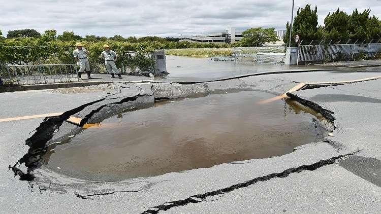 زلزال بقوة 6 درجات قرب طوكيو