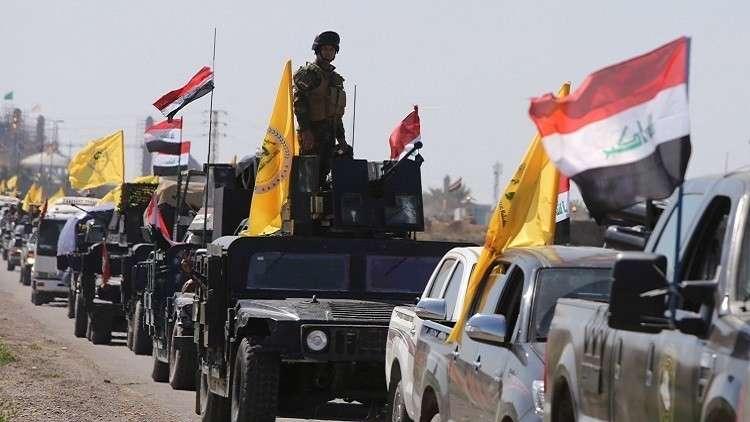 فصيل من الحشد الشعبي في العراق يعلن تطوعه للقتال مع الحوثي