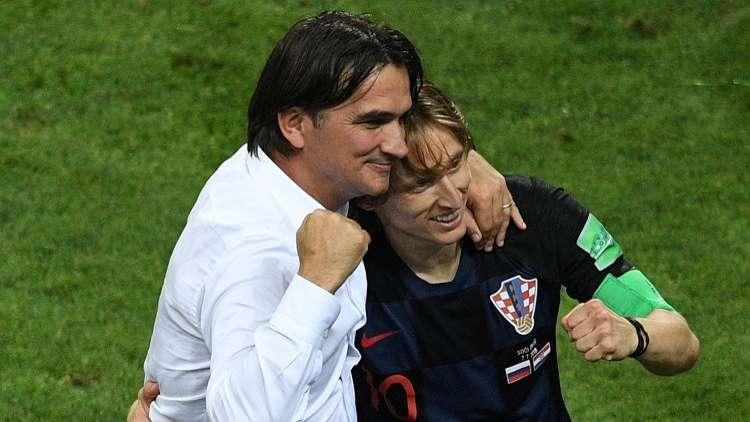 مدرب كرواتيا: كنا محظوظين أمام روسيا