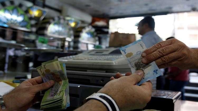 الحكومة السورية تحدد سعر الصرف بموازنة 2019