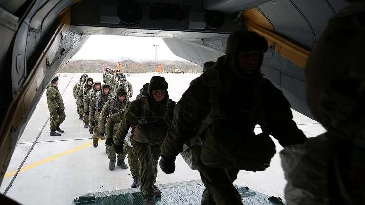 عشرات الطائرات الحربية تشارك في تدريبات للإنزال الجوي الروسي
