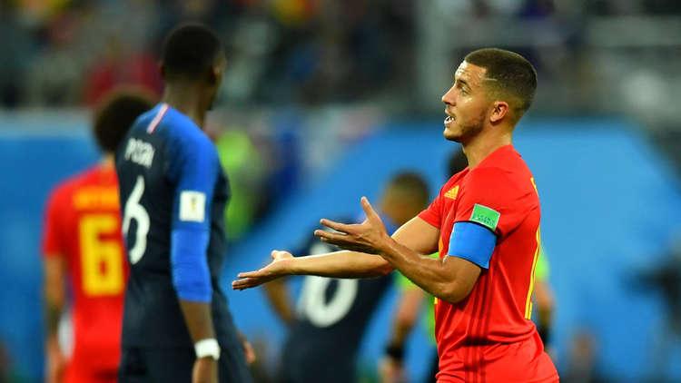 """مونديال روسيا.. هازارد """"يهين"""" طريقة لعب منتخب فرنسا"""