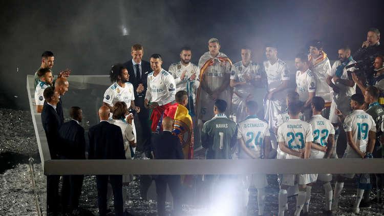 الكشف عن موقف ريال مدريد من إقامة حفل وداع لـ