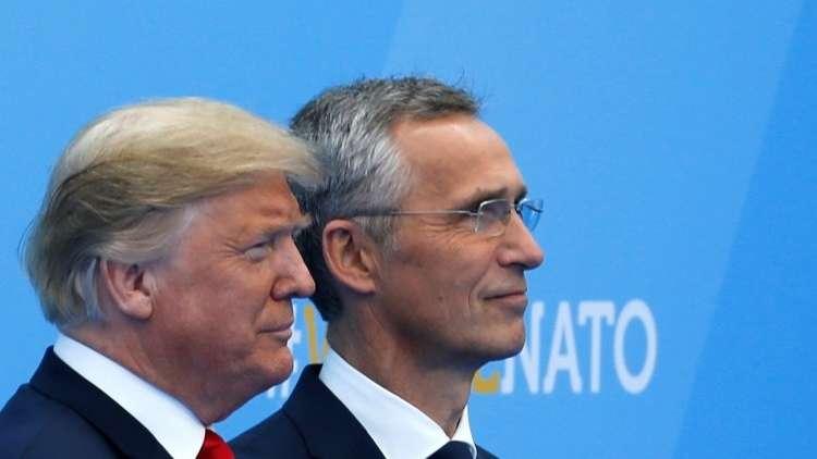 ترامب: لدي معجب واحد في حلف الناتو!