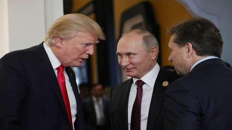بوتين-ترامب..