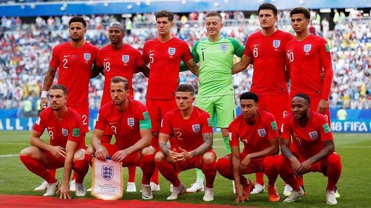 التشكيلة الرسمية لموقعة إنجلترا وكرواتيا