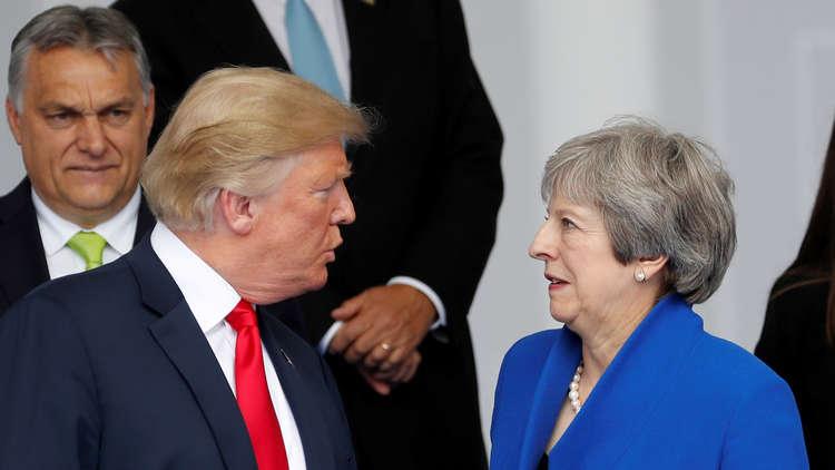 ترامب يبدأ الخميس زيارة لبريطانيا