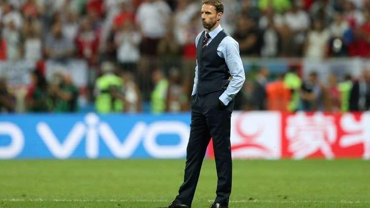 أول تعليق لمدرب إنجلترا بعد الخروج من مونديال روسيا