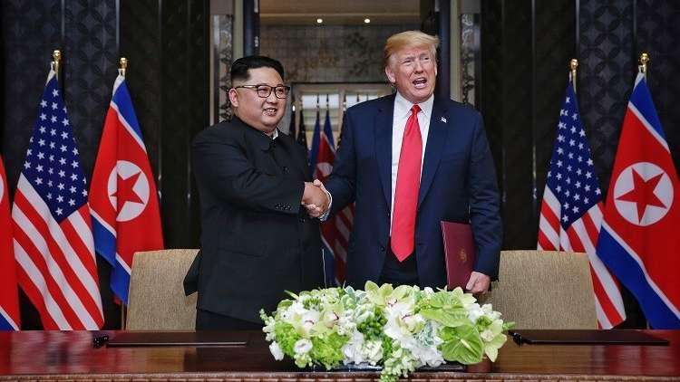 كيم إلى ترامب: تحسين العلاقات بين بلدينا سيثمر لقاء جديدا بيننا