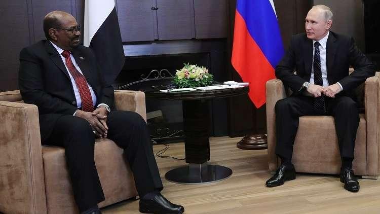 البشير في موسكو اليوم للقاء بوتين وحضور نهائي كأس العالم
