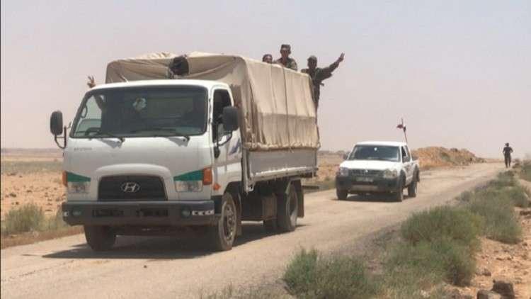 وصول أكثر من 10 أطنان من المساعدات الإنسانية الروسية إلى مدينة داعل بمحافظة درعا