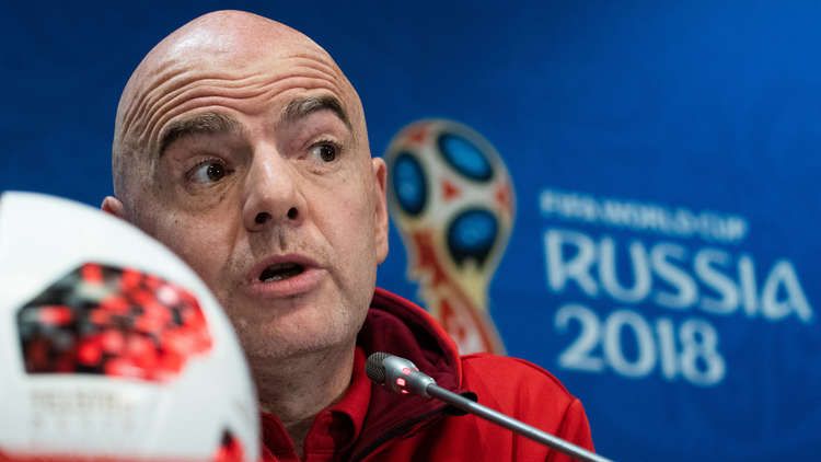 إنفانتينو: بحث زيادة منتخبات مونديال 2022 في الأشهر المقبلة
