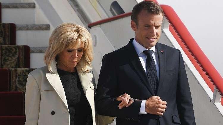 ماكرون يفاجئ لاعبين فرنسيين اثنين قبيل نهائي مونديال روسيا
