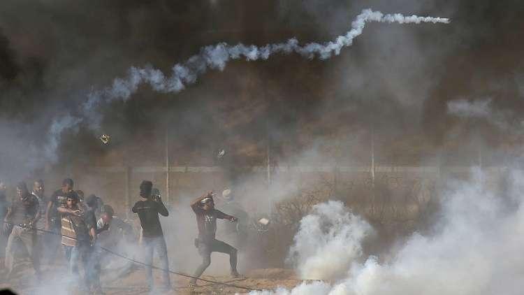 الصحة الفلسطينية: مقتل طفل فلسطيني برصاص إسرائيلي خلال احتجاجات في قطاع غزة