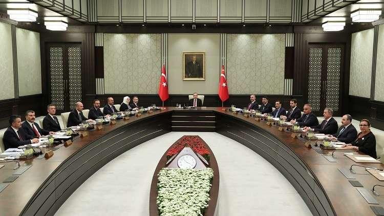 حكومة أردوغان الجديدة تعقد أول اجتماعاتها