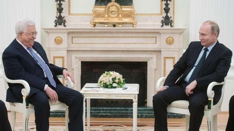نقل السفارة الأمريكية إلى القدس على جدول اجتماع بوتين وعباس