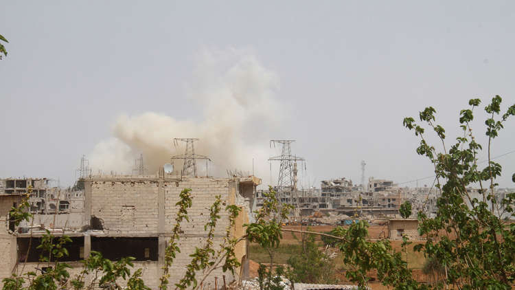 قتيلان بانفجار عبوة ناسفة بريف دمشق