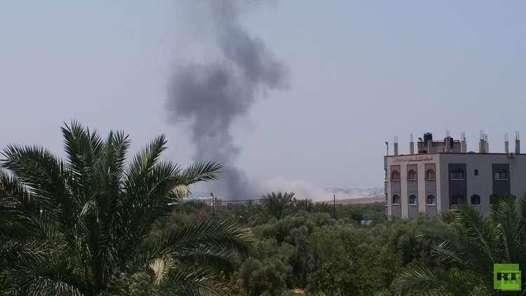 الطيران الإسرائيلي يجدد قصفه لمواقع في قطاع غزة